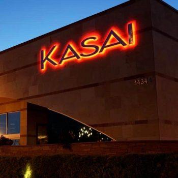 Kasai Scottsdale - Signage Front of Restaurant