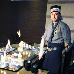 Teppan Chef at Kasai Scottsdale